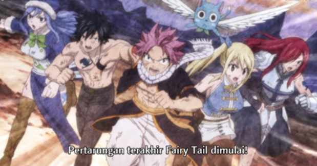 Fairy Tail (2018) Episode 278 Subtitle Indonesia