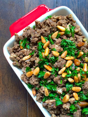 Lebanese Hushwee – Ground Beef with Pine Nuts