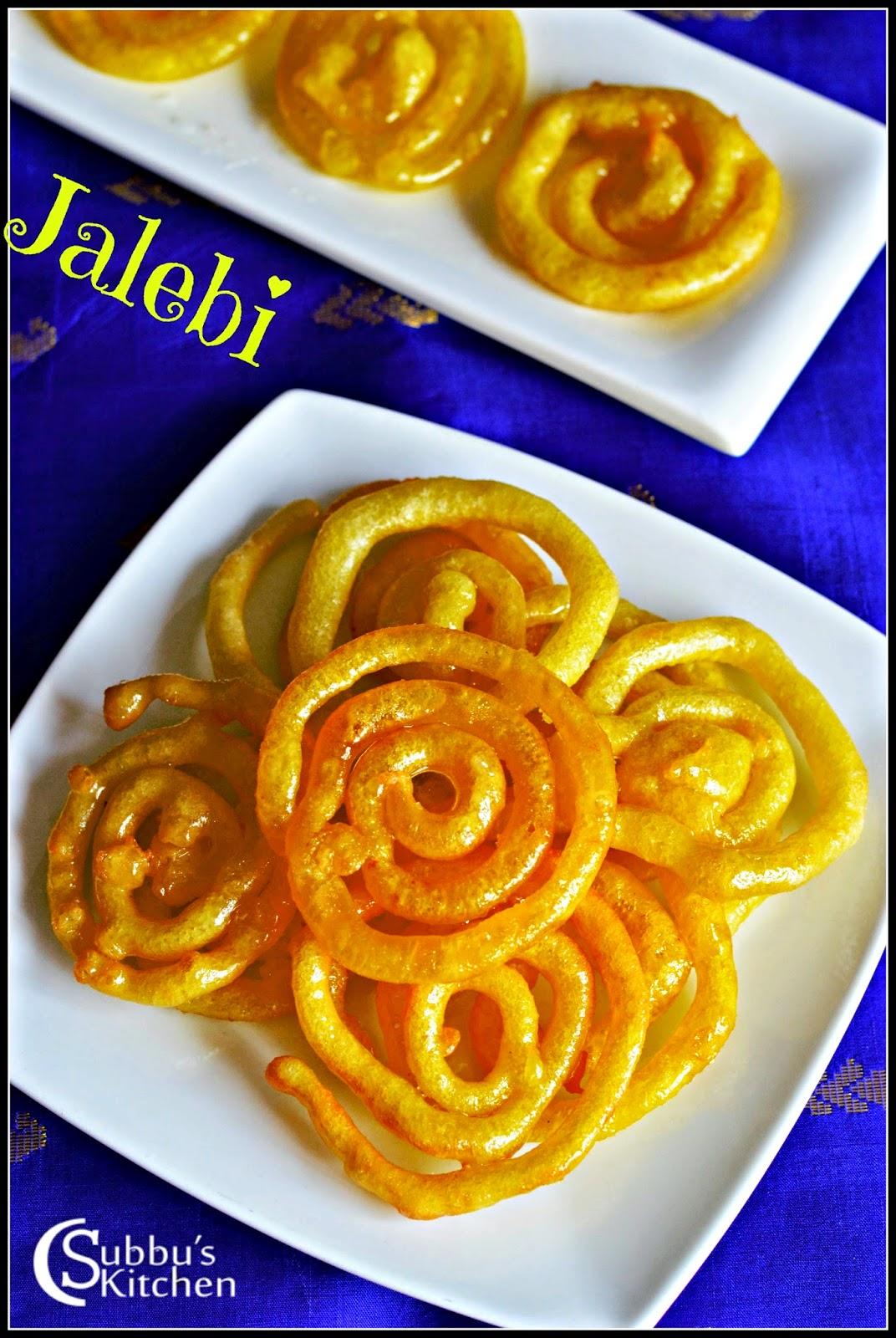 Instant Jalebi Recipe   Jalebi Recie without Yeast