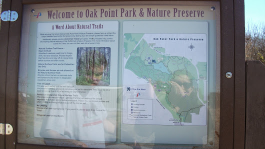 A Walk at Oak Point Park