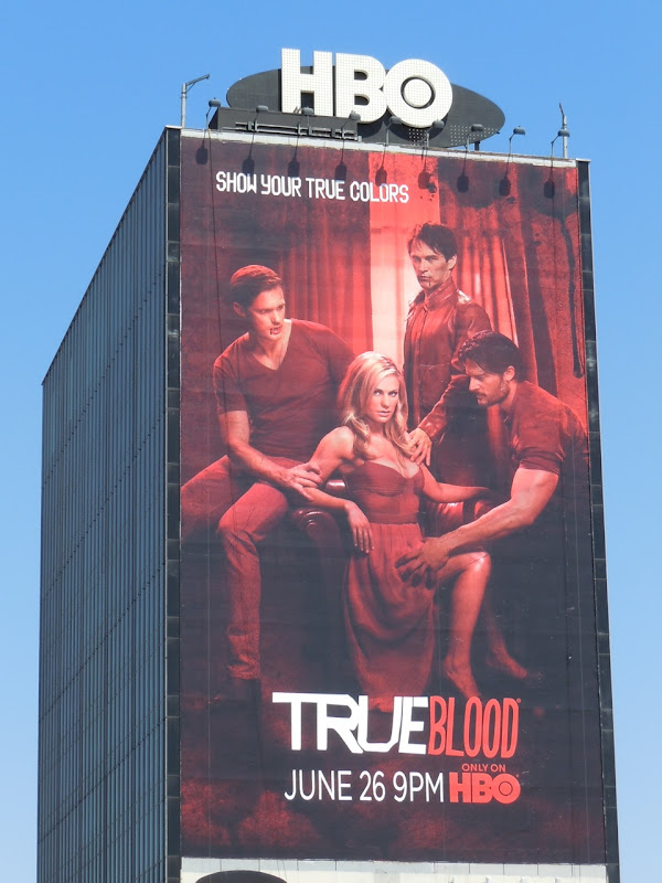 True Blood Show your true colors billboard