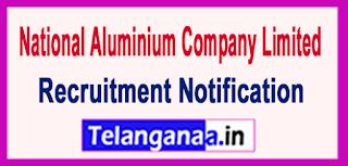 National Aluminium Company Limited NALCO Recruitment Notification 2017 Last Date 09-06-2017