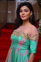 Anisha Ambrose sizzles in cute Green Anarkali Dress at Fashion TV F Club Saloon Launch ~  Exclusive 016.JPG