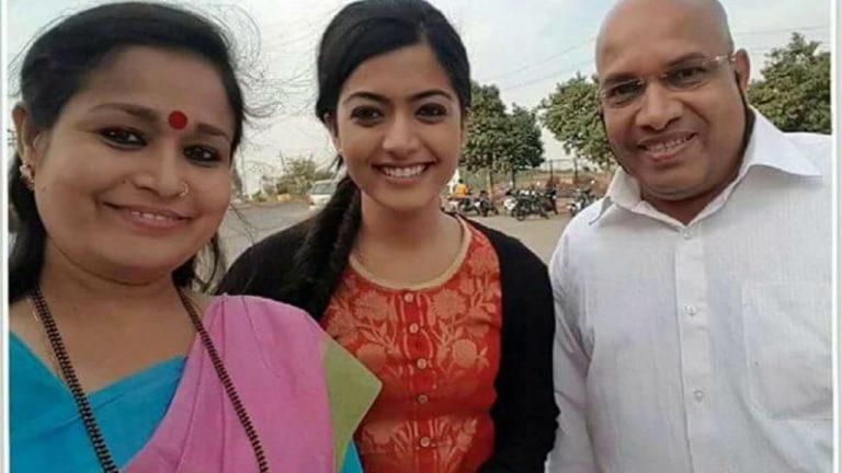 Rashmika Mandanna Parents
