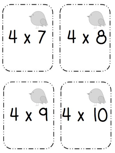 Tales From 3rd Grade: Multiplication Go Fish!