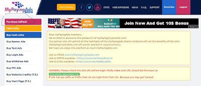 Belajar Tingkat Lanjut Cara Dapat Bitcoin Lewat Revshare Mypaying ads (SCAM) 18