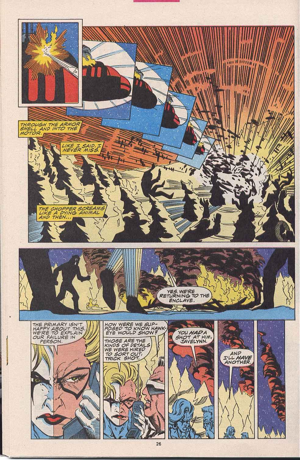 Hawkeye (1994) Issue #1 #1 - English 20