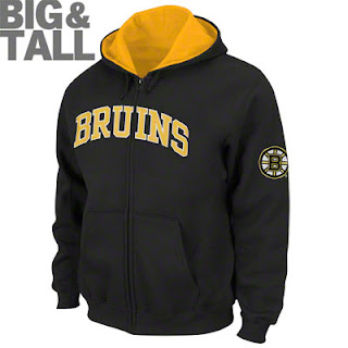 Big and Tall Boston Bruins Hooded Sweatshirt