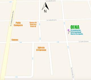 Croquis ubicación Nueva Acrópolis Santa Ana