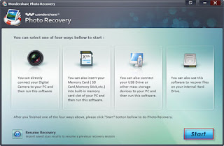 Recovery carte SD
