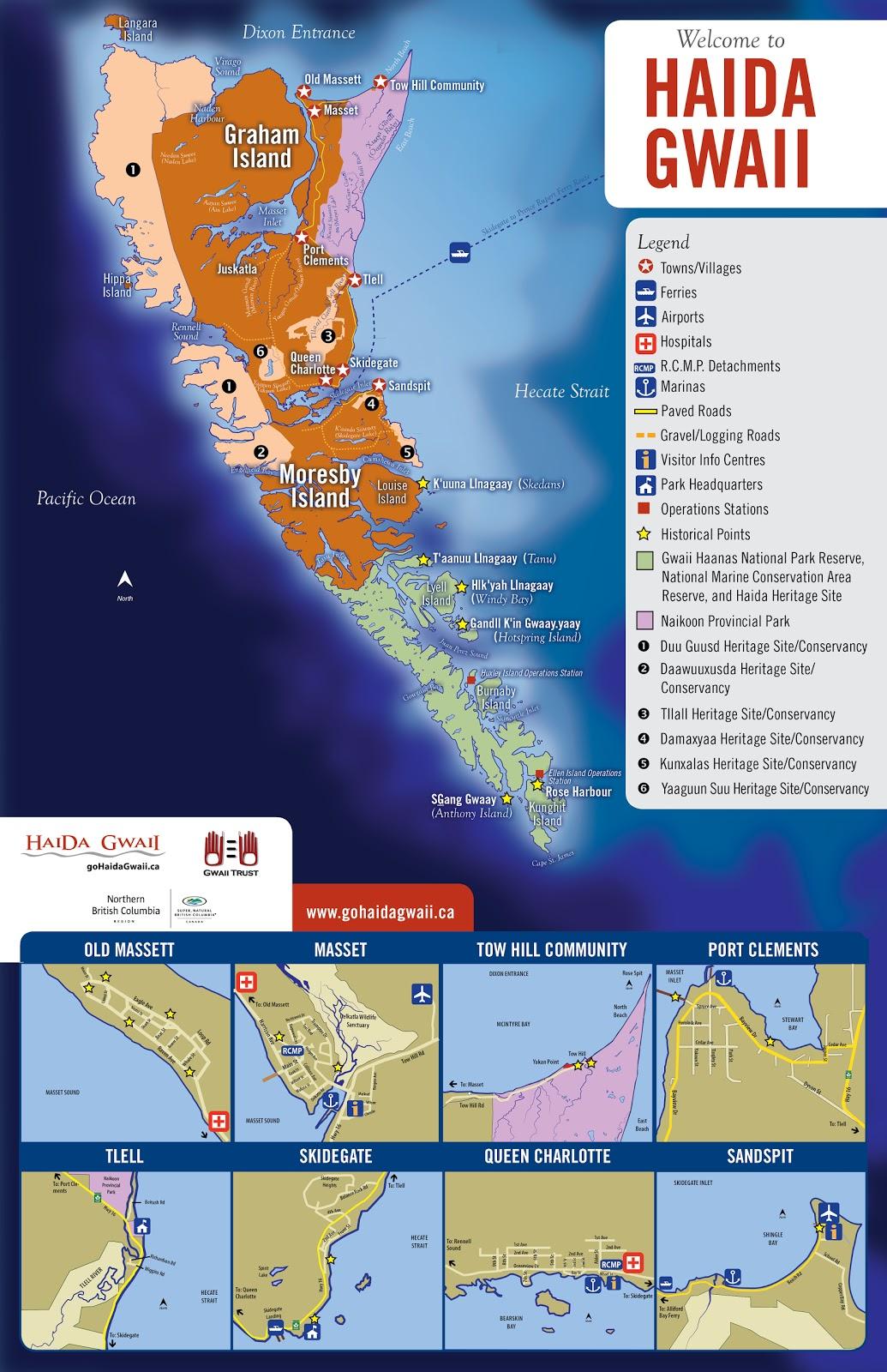 Haida Gwaii Tourism: March Mapping Madness!