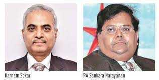 Karnam Sekar and R A Sankara Narayanan