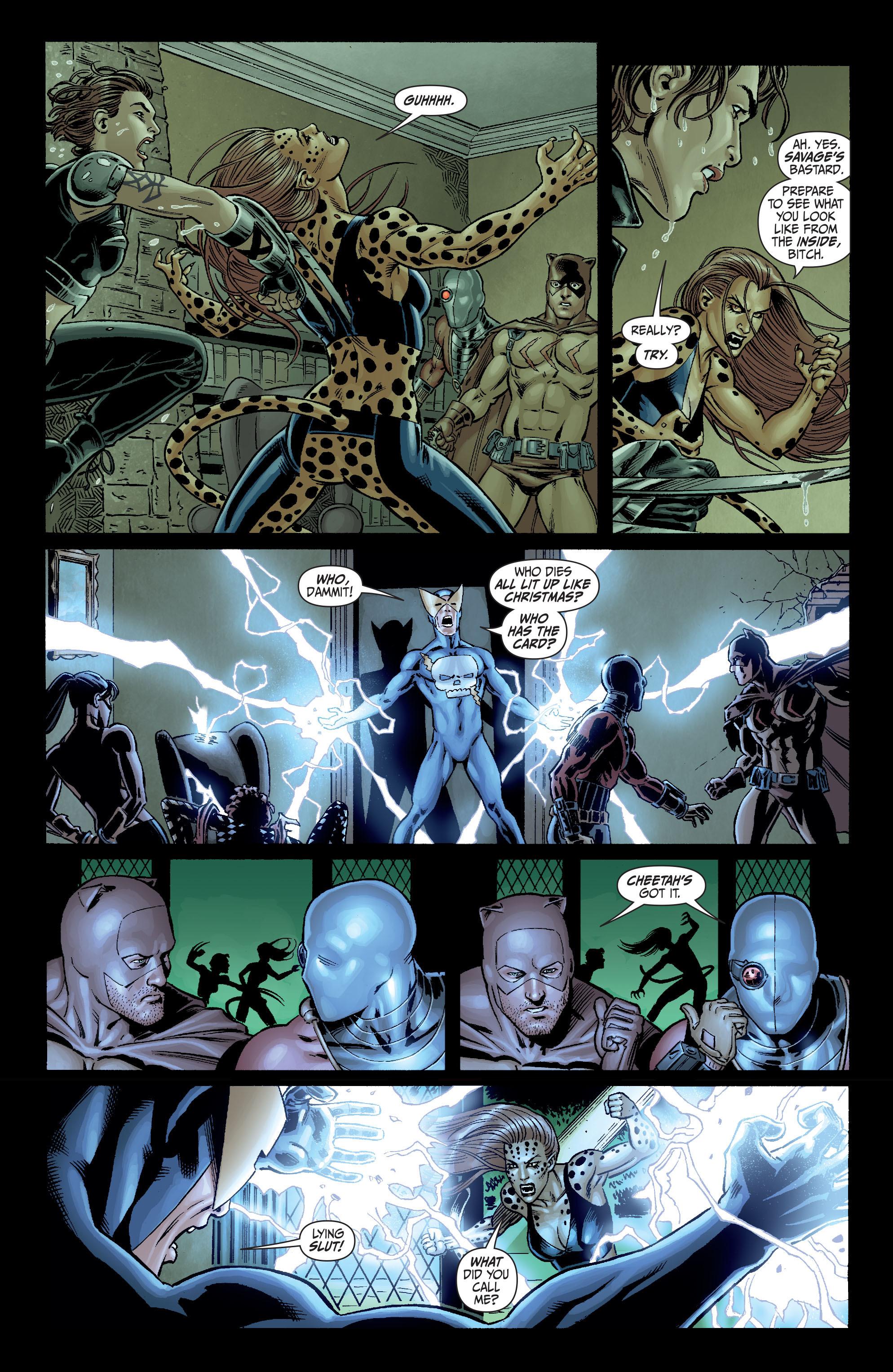 Read online Secret Six (2008) comic -  Issue #3 - 20