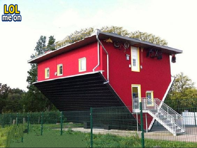 """funny WTF picture shows an Inverted Home from """"LOL me on"""""""