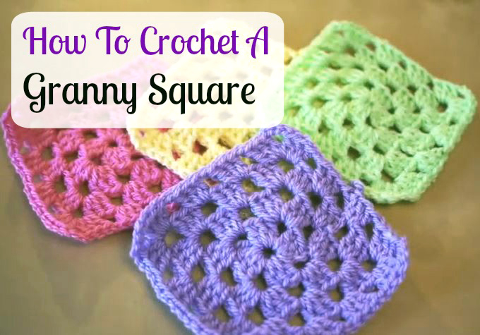 How To Crochet A Granny Square Beginners Tutorial : How To Crochet A Granny Square For Beginners Tutorial ...