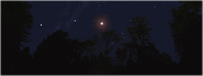 Marte - julho de 2018 - recorde brilho