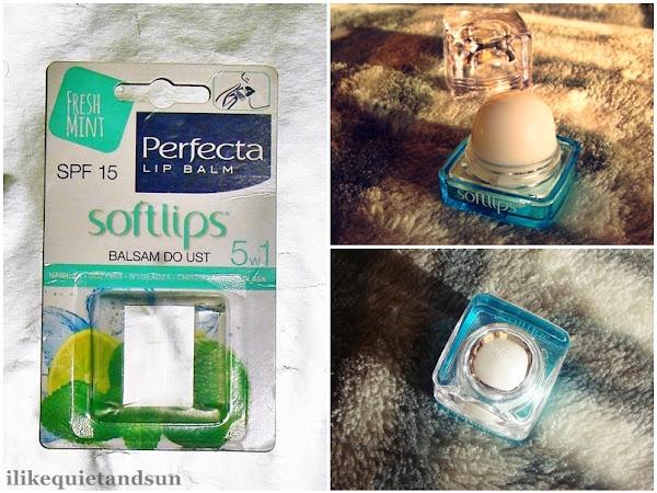 Perfecta Lip Balm, Softlips, balsam do ust 5w1