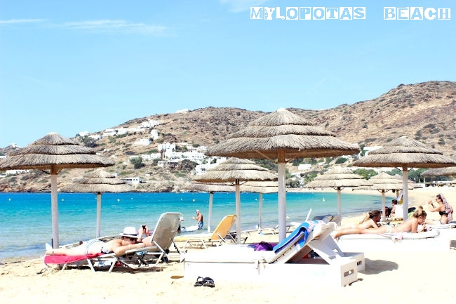 Mylopotas beach in Ios island