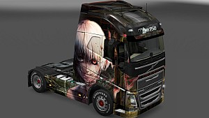 Tokyo Ghoul skin pack for all trucks