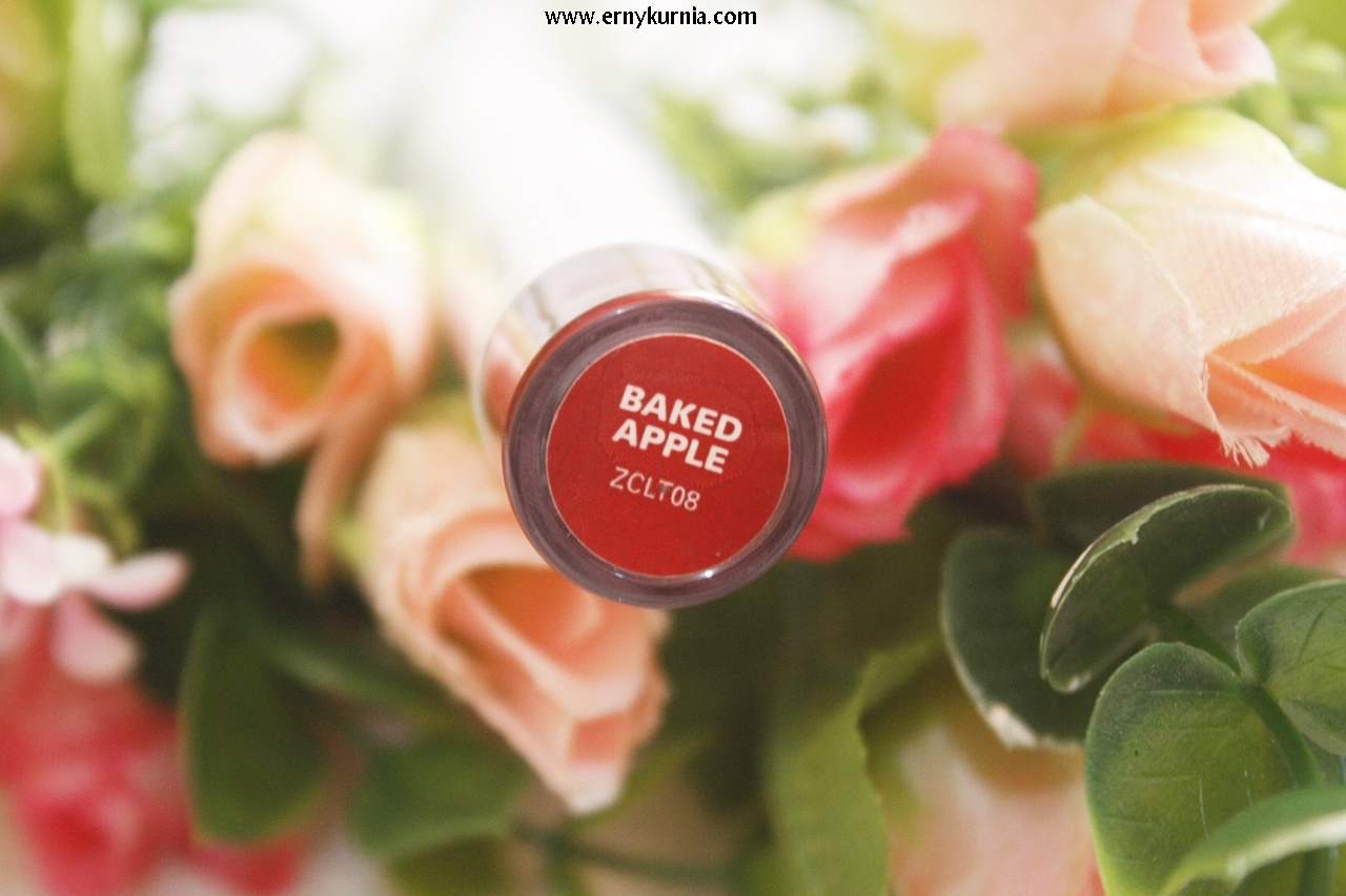 shade baked apple, lip paint, Zoya Lip Paint, Lip cream, Lipcream lokal,