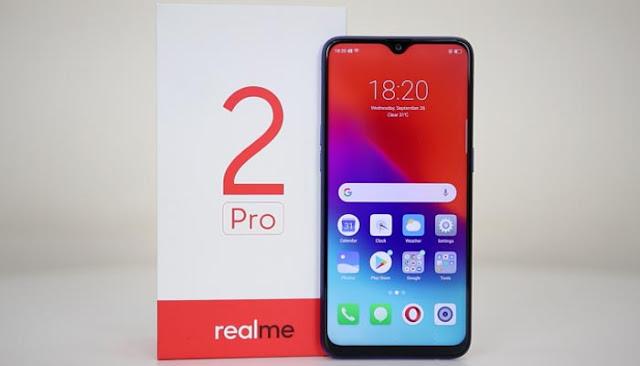 Spesifikasi dan Harga Terbaru Realme 2 Pro