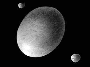 Haumea planet kerdil berbentuk aneh