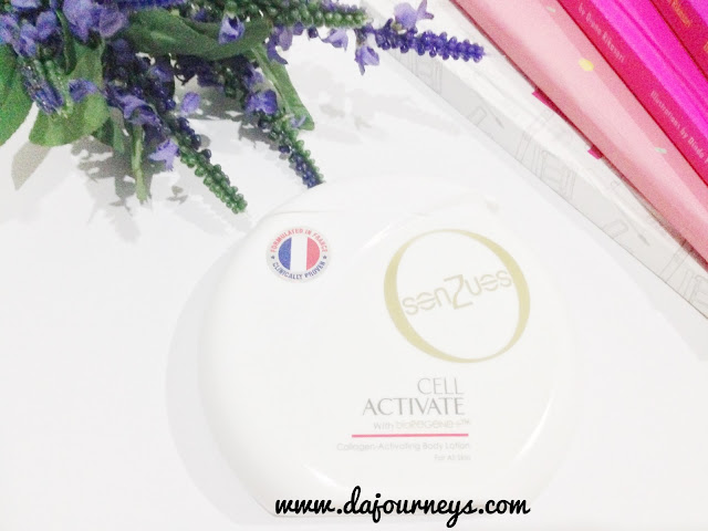 Senzues CELL ACTIVATE Body Lotion