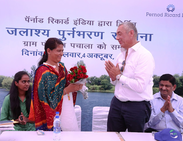 Pernod Ricard India Commits to Sustainable Water Management in Phagi, Rajasthan