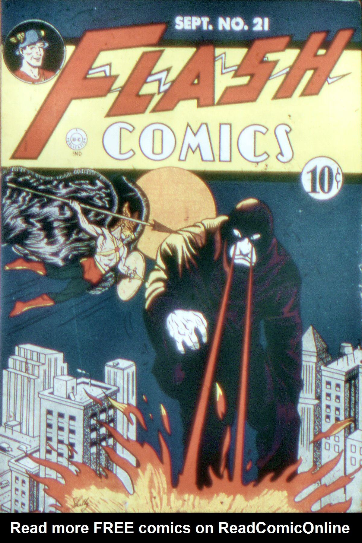 Flash Comics 21 Page 1
