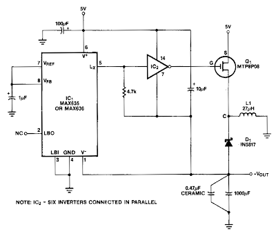 Medium Power Inverter Circuit Diagram