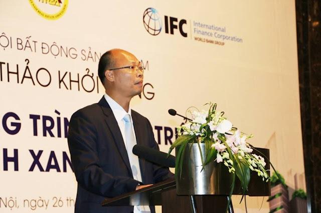 Ông Lê Trung Thành phát biểu tại hội thảo
