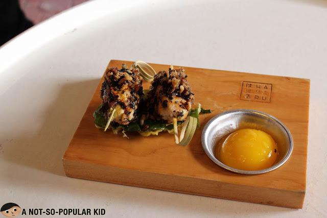 Tsukune Shiso of Hamaru Japanese Restaurant