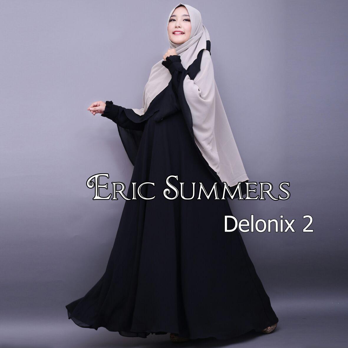 Jual Baju Gamis Hijab Terbaru Delonix Syar Vol 2 By Eric Summers 4261f03cac