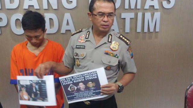 Burhanuddin Bikin Meme Menghina Jokowi Karena Marah Agama Islam Direndahkan