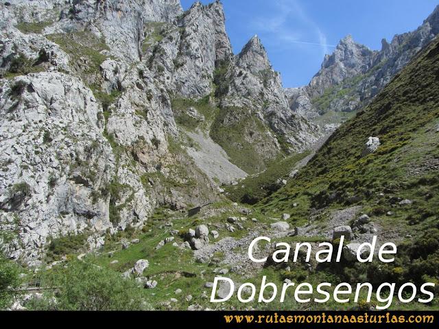 Ruta del Cares: Canal de Dobresengos