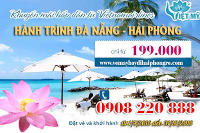 Khuyến mãi Vietnam Airline đi Hải Phòng