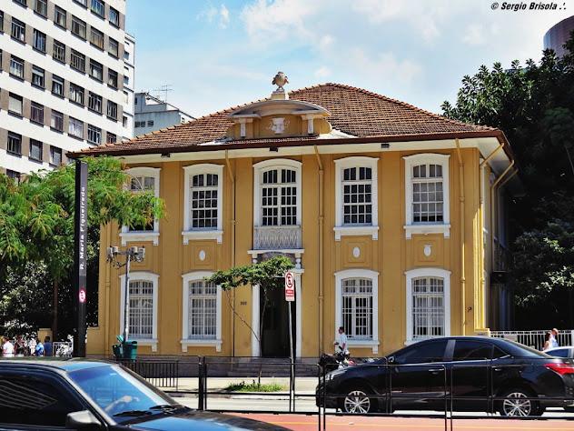 Fachada do Instituto Pasteur - Avenida Paulista São Paulo