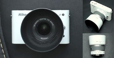 Jual Mirrorless Bekas Nikon 1 J1 + Kit