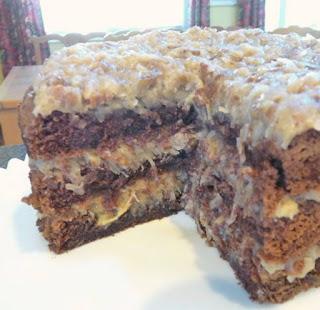 how to make a homemade german chocolate cake