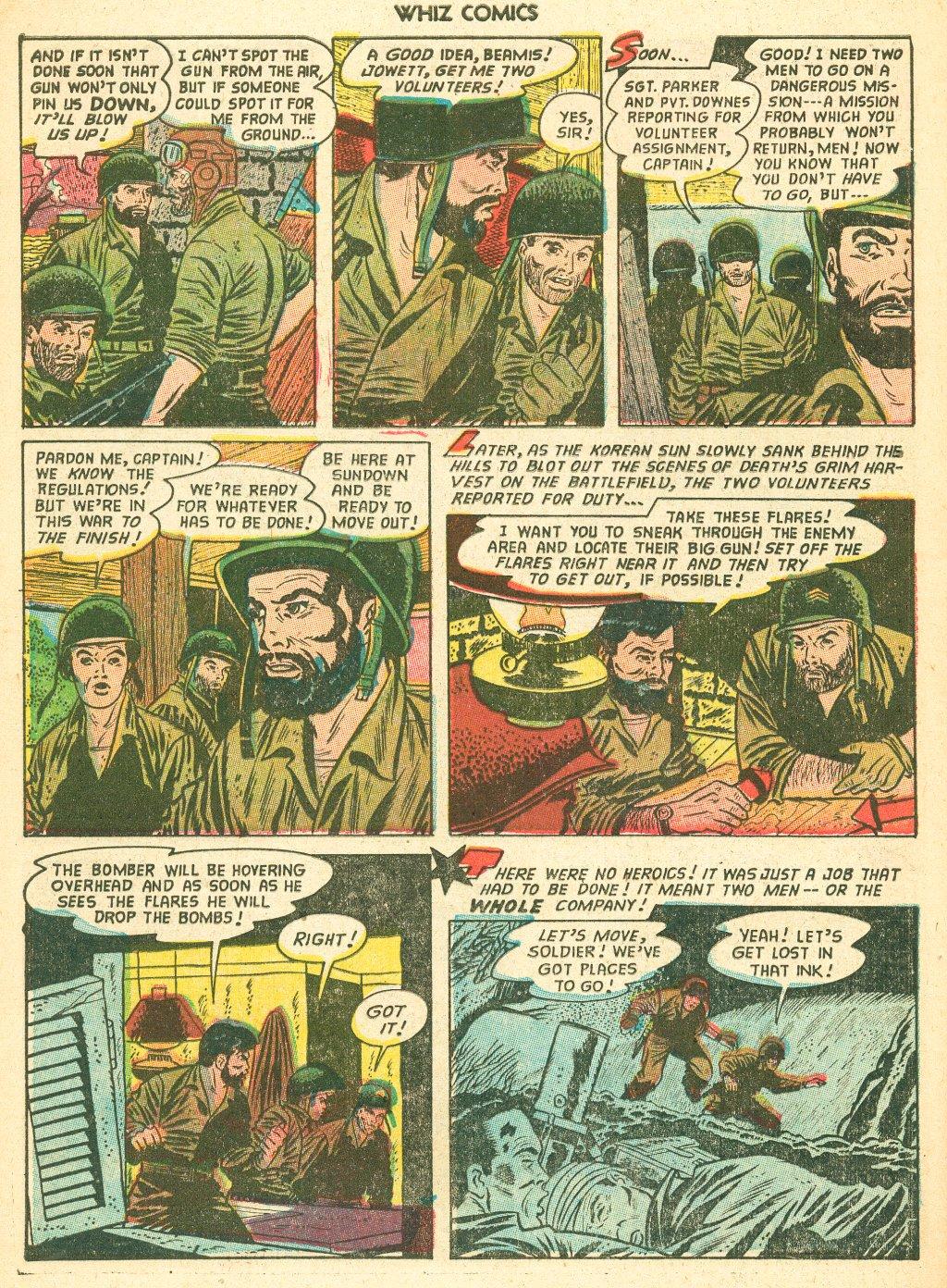 WHIZ Comics #155 #156 - English 30
