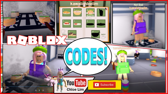 Roblox Cooking Simulator Gameplay! - BETA! 2 MORE CODES! My Fight WITH LARRY!