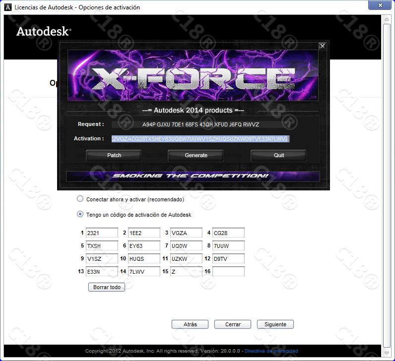 xforce keygen autocad 2014 64 bit