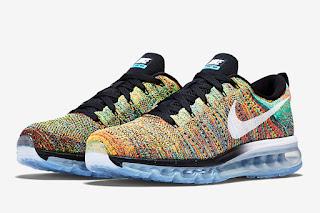 sepatu nike, sepatu nike air max, sepatu nike air max flyknit, sepatu nike air max flyknit multicolor, toko jual Sepatu Nike Air Max Flyknit Multicolor murah