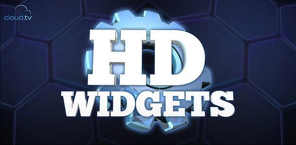 نسخة من برنامج الطقس الرائعHD Widgets v2.5.2