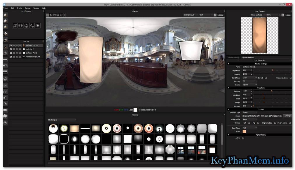 Download HDR Light Studio 5.4.2 + 5.5.0 Carbon Full Key,Phần mềm chiếu sáng 3D cho các nghệ sĩ thiết kế