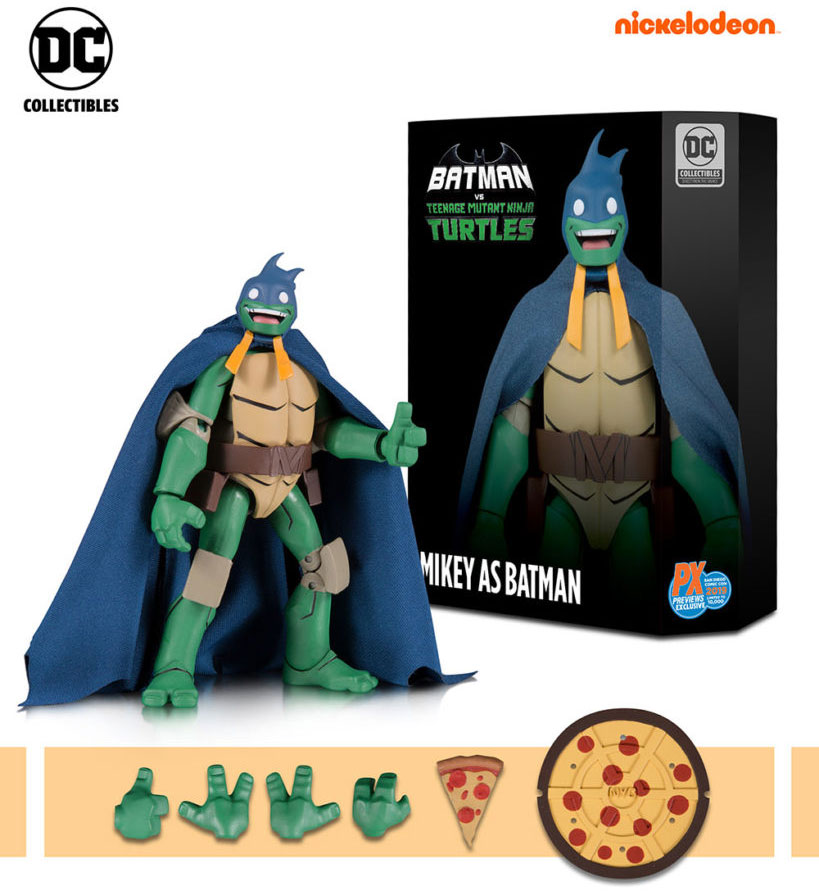Nickalive Gamestop And Dc Collectibles Unveil Batman Vs Teenage Mutant Ninja Turtles Figures