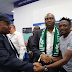 Senator Bukola Saraki And Other Senators Meet Ahmed Musa After Nigeria - Iceland World Cup Match In Russia