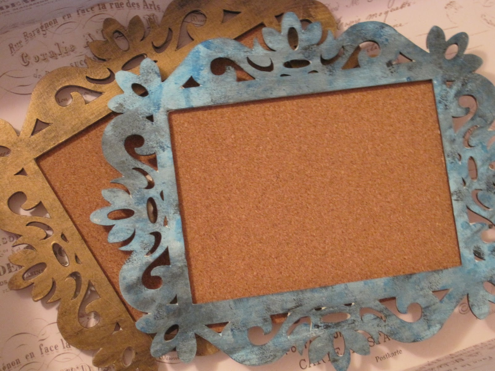 f7321dab381 The Beauty of Etcetera  DIY  Vintage Frame Bulletin Board