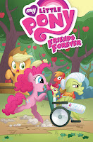 MLP IDW Friends Forever Volume 7 Paperback Comic Main Cover by Agnes Garbowska
