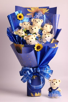 Kertas Buket Bunga / Flower Bouquet Wrapping Paper (Seri TYH)